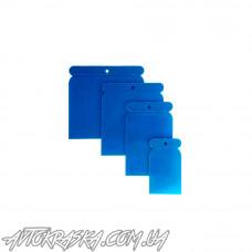 BLUE-CAR Комплект шпателей пластмассовых, 4 шт.